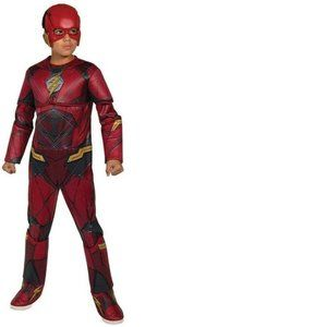 Boys Justice League The Flash Muscle Costume-S 4/6